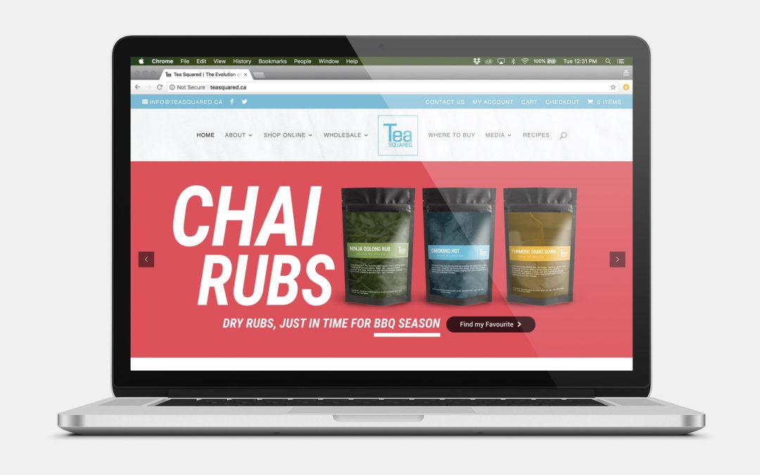 Tea Squared E-Commerce Website