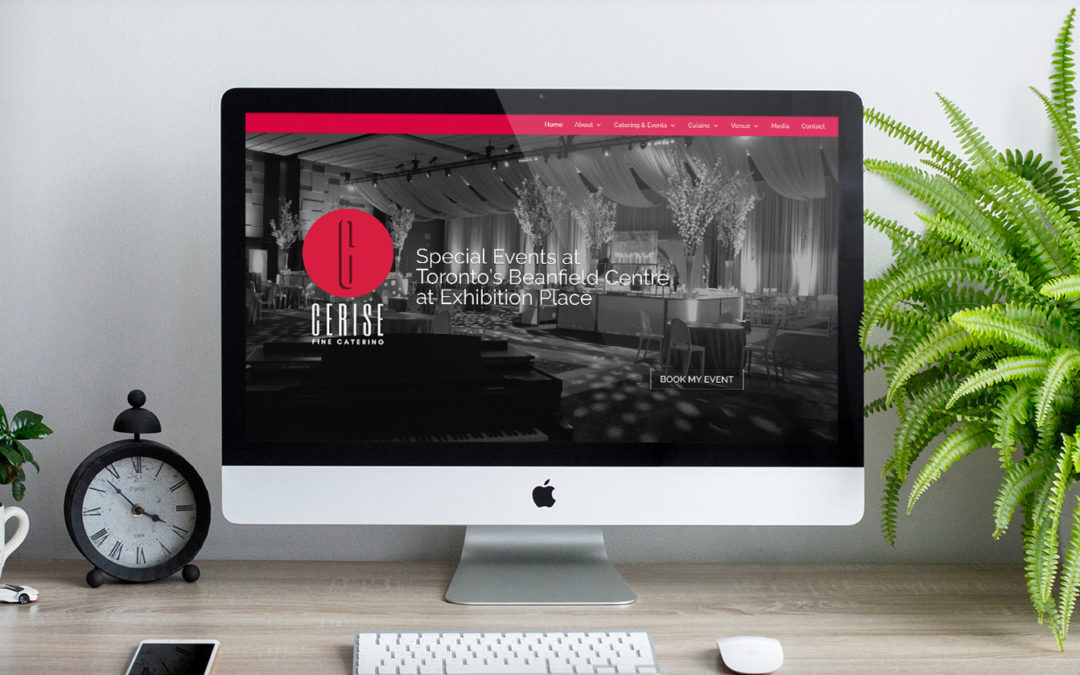 Cerise Fine Catering Website