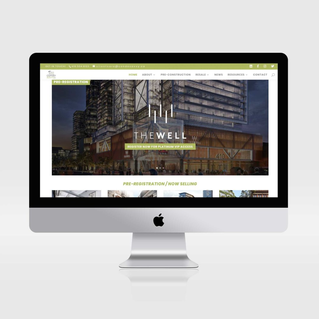 Condo Savvy Website