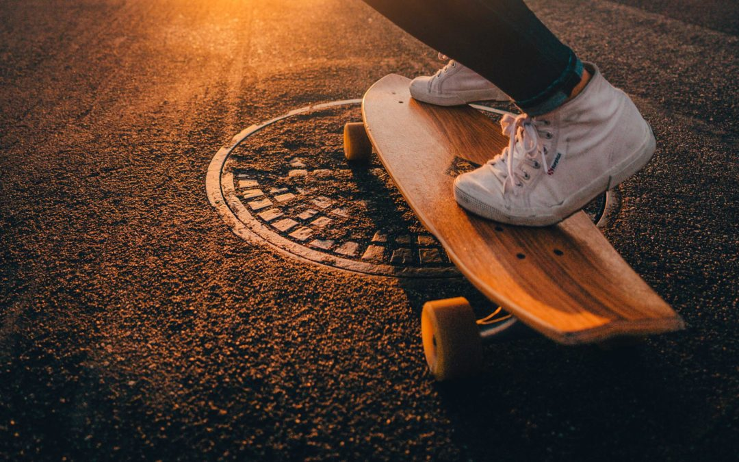 Skate-able ART at the Bentway Toronto