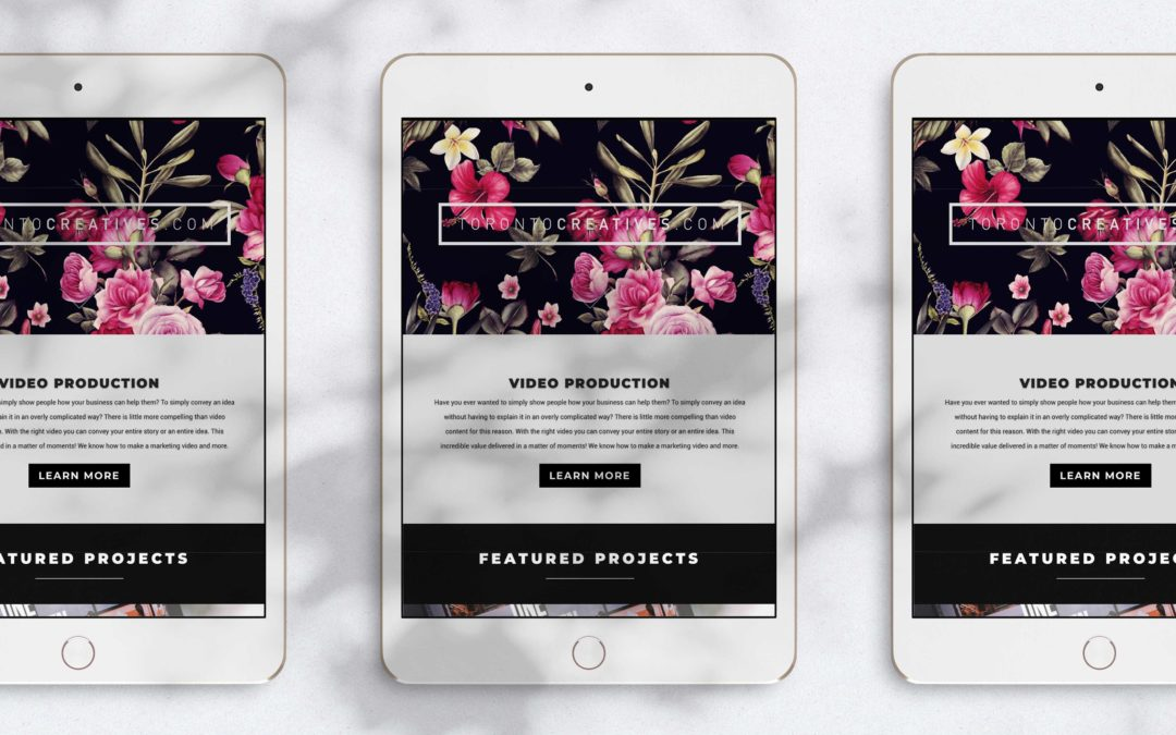 Five Free iPad Mockups for Web Designers 2019