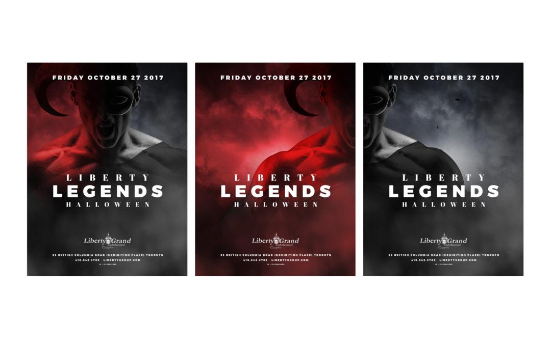 Liberty Grand Halloween 2017 Event Website