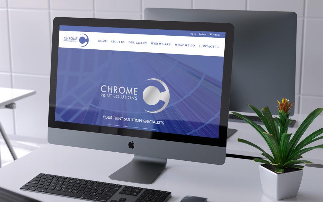 Chrome Print Solutions E-commerce Website (Vancouver, BC)