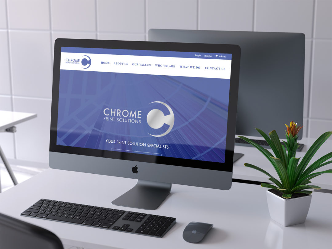 Chrome Print Solutions E-commerce Website (Vancouver, BC)