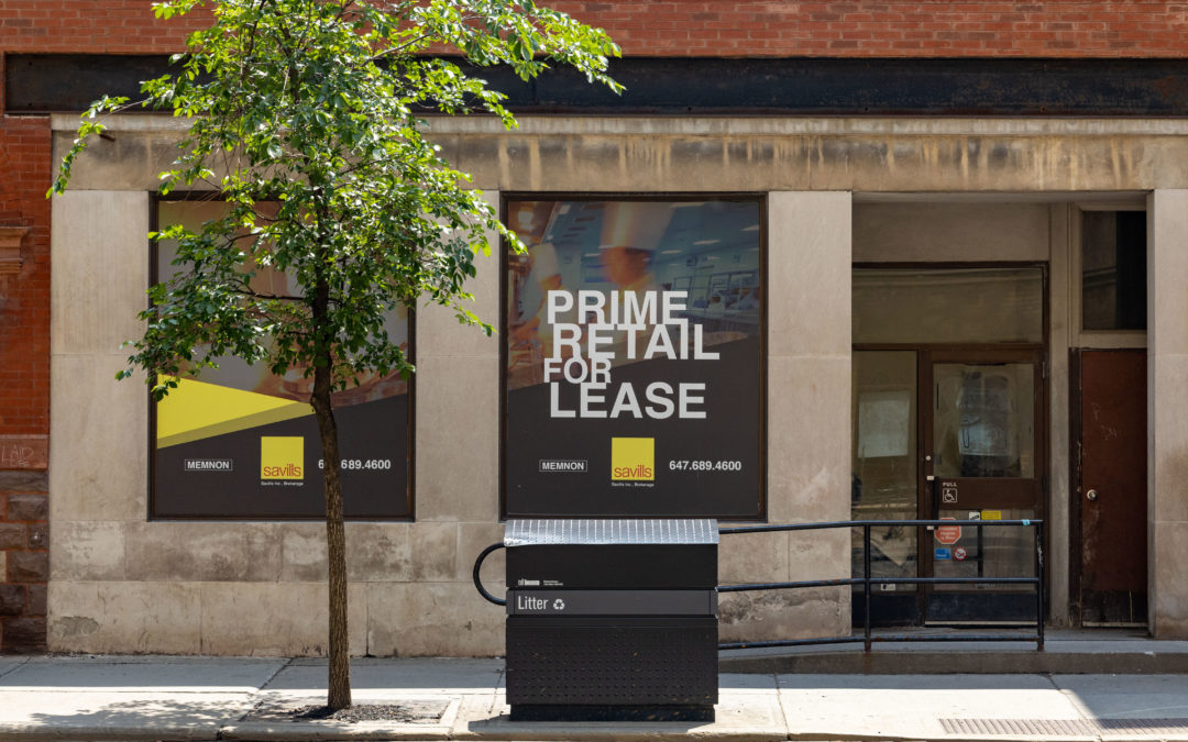 Savills Retail Large Format Design, Print & Install