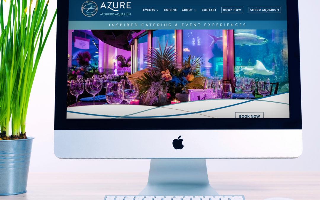 Azure at Chicago's Shedd Aquarium Website (Chicago, IL)