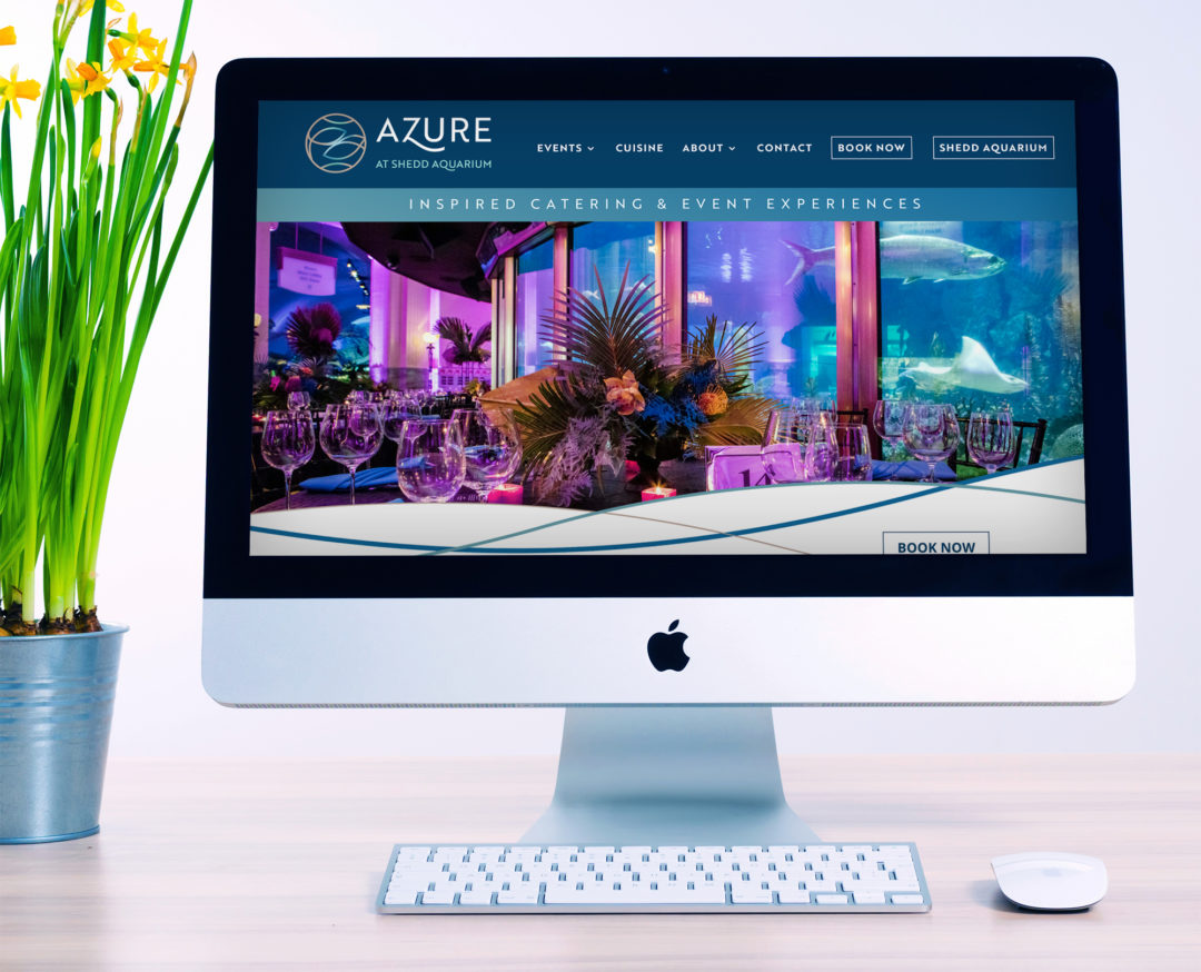 Azure at Chicago's Shedd Aquarium Website (Chicago, IL)