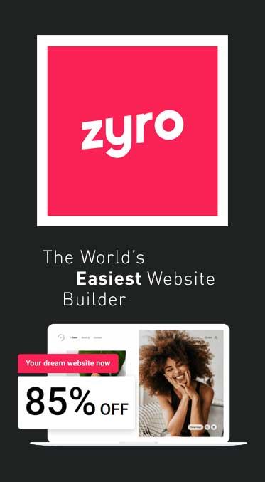 Zyro The World's Easiest Website Builder