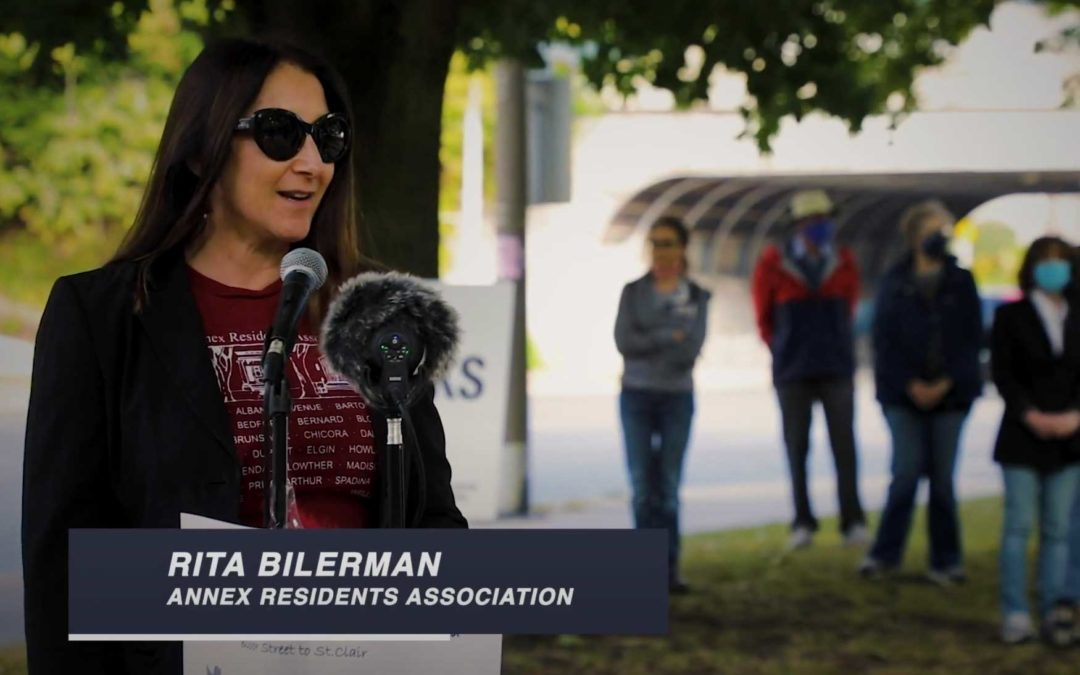 Avenue Road Safety Coalition Video
